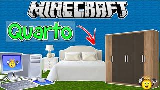 ★Como fazer Decoração Quarto Minecraft PE/PC/PS4/Xbox