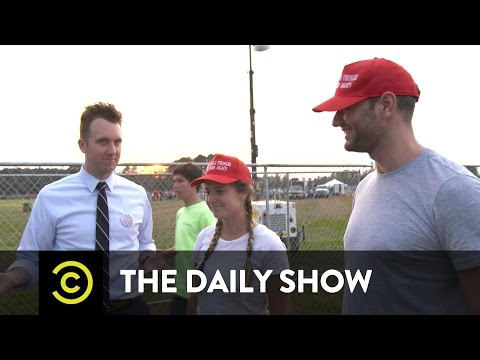 The Daily Show - Jordan Klepper Fingers the Pulse - Clinton and Trump Supporters Find Common Ground