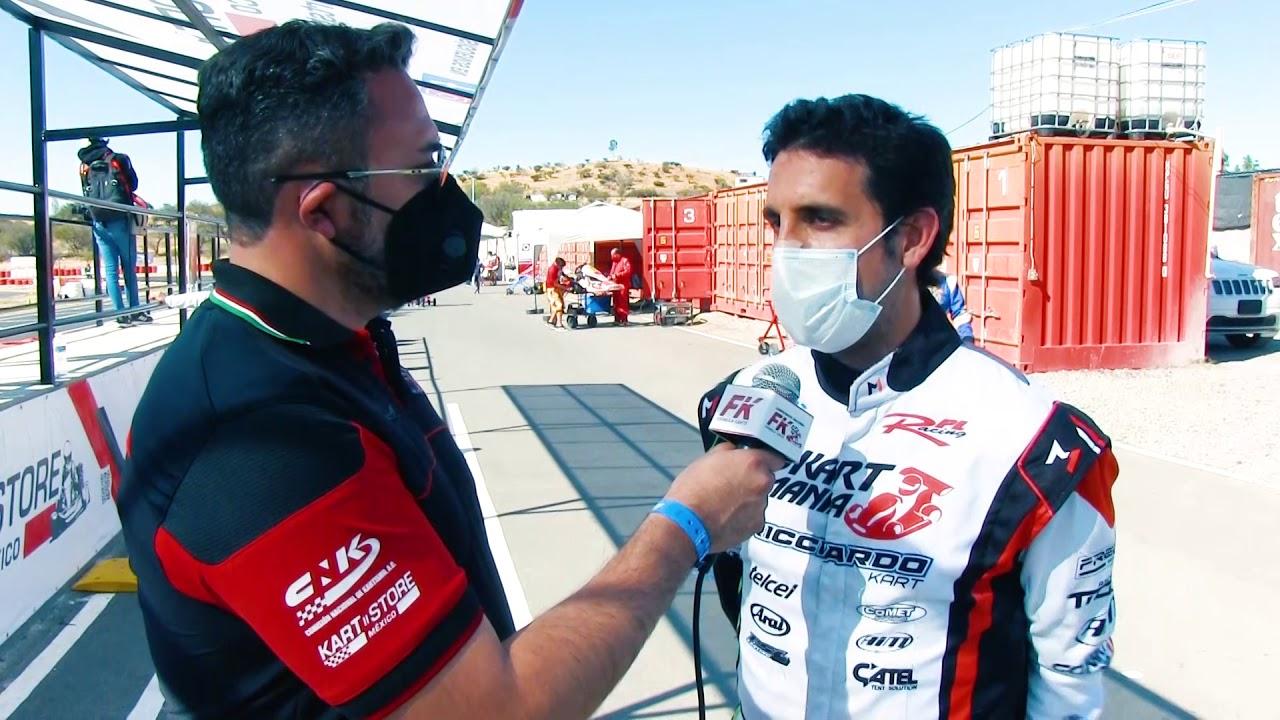 Entrevista Santiago del Rincón Fecha 1 Fórmula Karts 2021