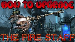 HOW TO UPGRADE THE FIRE STAFF QUICKLY FOR BEGINNERS (BLACK OPS 2, ORIGINS)