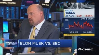 Cramer: Musk is making a fool of the judge, not the SEC