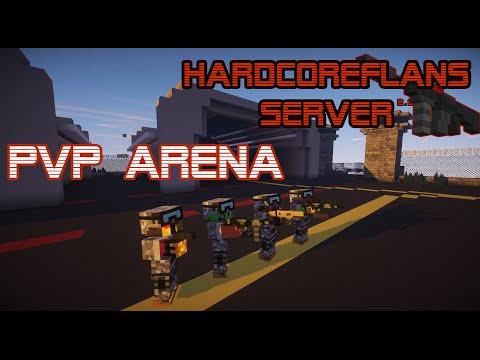 FLAN'S MOD PVP ARENA TEASER! TDM, FFA, CTF WITH GUNS! - HardcoreFlan's Server