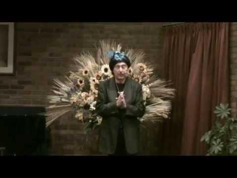 """Swami Beyondananda """"Wake Up Laughing"""" Cosmic Comedy Show - Livonia, Michigan"""