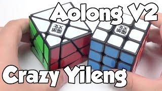 Black Crazy YiLeng And AoLong V2 Unboxing | Cubezz.com