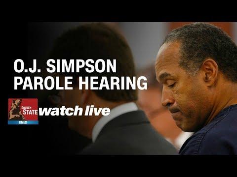 LIVE: OJ simpson Parol Hearing from Nevada corrections Parol Hearing Board