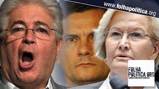 Requião ataca Moro e Bolsonaro com sarcasmo e Ana Amélia rebate frontalmente; veja vídeo