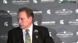 Tom Izzo Press Conferece: Michigan State 84 Northwestern 77 OT