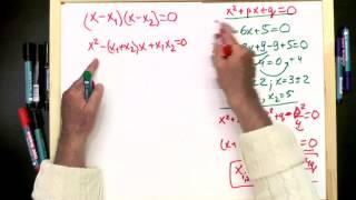 1 4 Квадратные уравнения