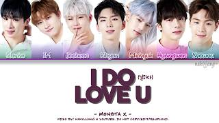 MONSTA X (몬스타엑스) – I DO LOVE U (널하다) (Coded Lyrics Eng/Rom/Han/가사)