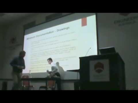 CIBSE WA Chapter Seminar - Towards Effective Documentation Seminar
