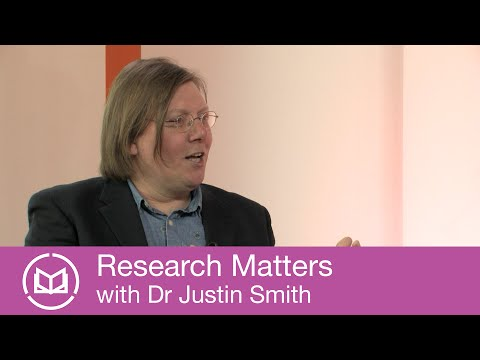 Research Matters with Dr Justin Smith