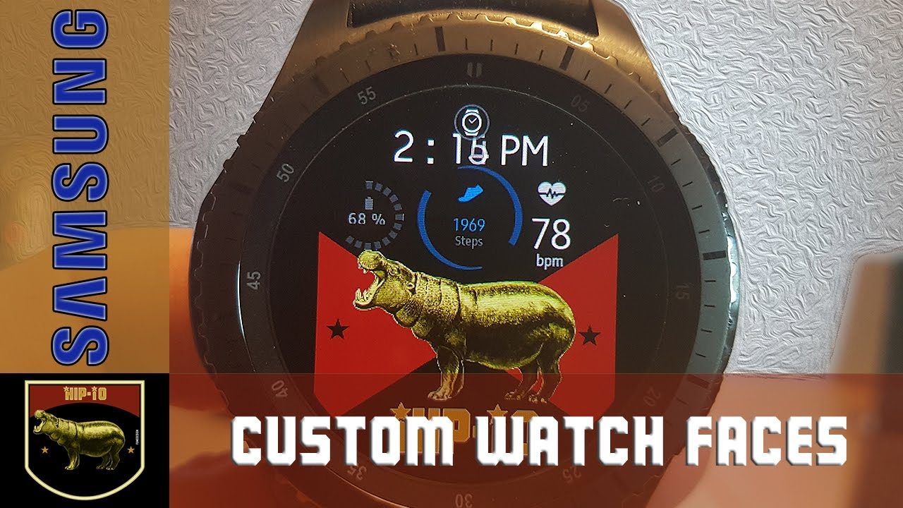 Samsung Gear S3 Frontier - Create your own custom watch ...