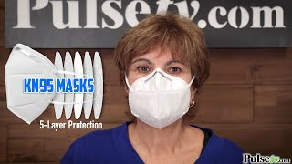 KN95 Disposable, 5-Layer Respirator Masks - Info and How To Wear Them