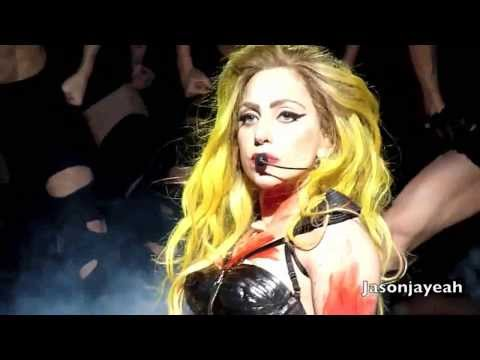 Lady Gaga - [Teeth HD] LIVE Houston