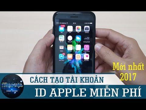 Hướng Dẫn Tạo Tài Khoản Apple ID Miễn Phí 100% Không Cần Thẻ Visa (tháng 7/2017)