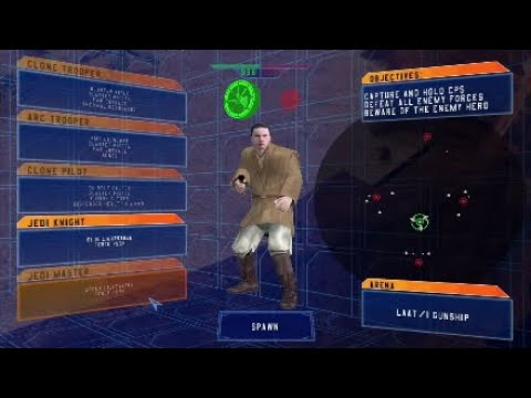 My favorite mod on Star wars battlefront classic 2004 |