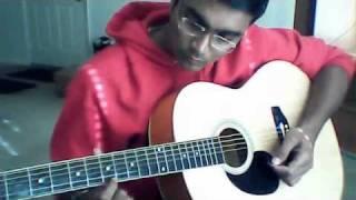 Ni Sa Ri Sa - Tamil Theme song from Jeans- Guitar Beginner
