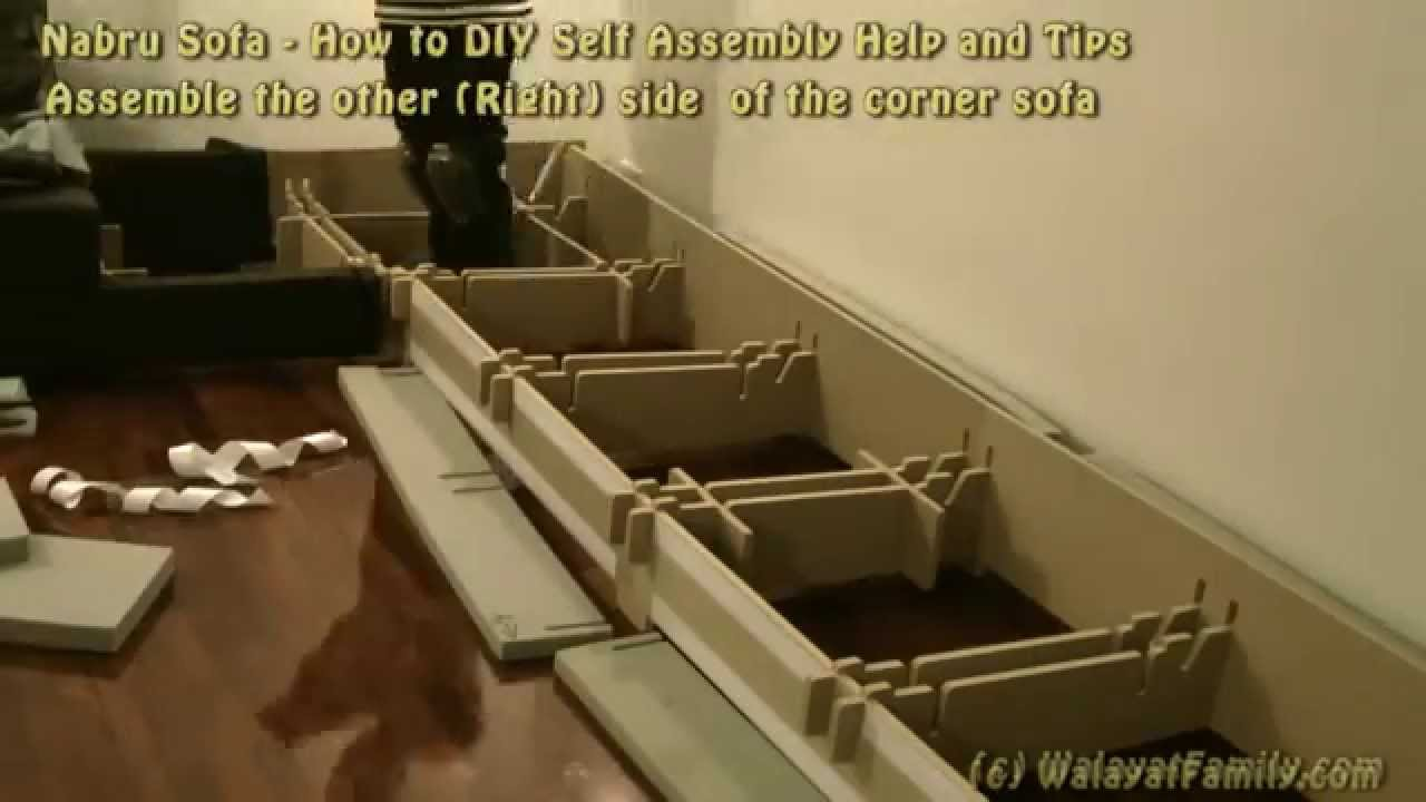 Klassische Sofas You Can Assemble Nabru Sofa How To Diy Self Assembly Help And Tips