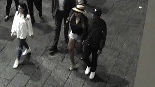 Beyoncé e Jay-Z a Capri di notte (night out in Italy) VIDEO EXCLUSIVE