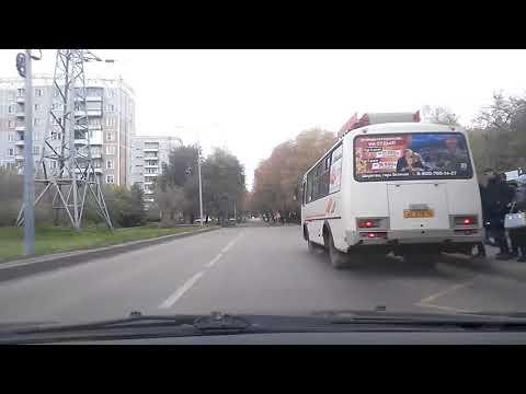 Экзаменационный маршрут 17. Новокузнецк.