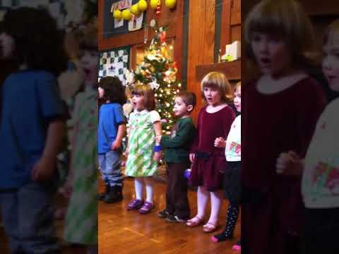 Emilly Elizabeth Panos at Neskowin Valley School at age 3-December 2012