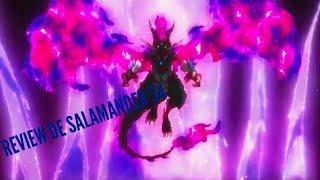 REVIEW DE HEAT SALAMANDER S4 Hasbro | Beyblade burst turbo slingshock français