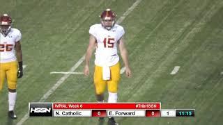 WPIAL Football - North Catholic at Elizabeth Forward