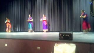 Vaishnavi Kaveri folk dance presentation.3gp