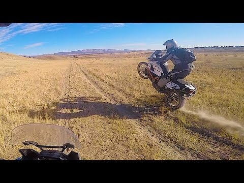 "KTM 990 adventure and Africa Twin ""A Day in the desert"" #KTM 990 #Africa Twin"