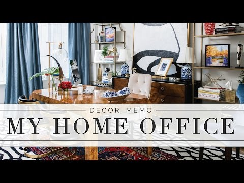 Home Office Tour: Decor Tips + Design Details! | Memorandum by Mary Orton