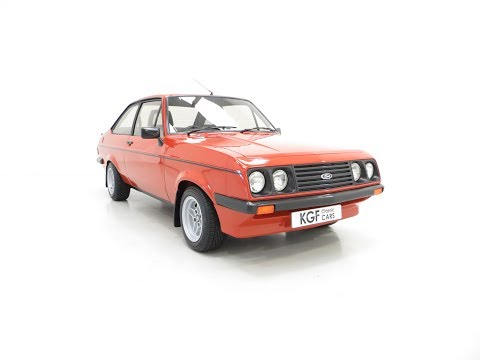 The Terracotta Warrior Ford Escort Mk2 RS2000 Custom in Immaculate Condition - SOLD!