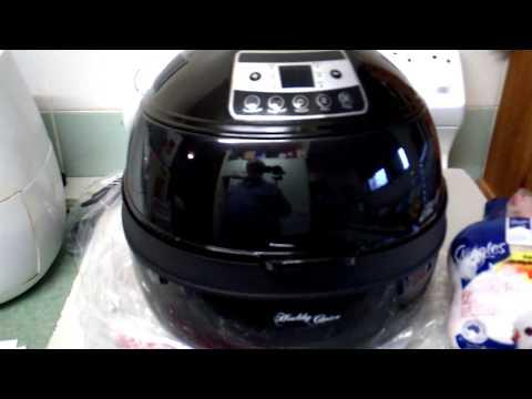 kogan,healthy-choice-10-lit,digital-multi-function-1300w-air-fryer-black.