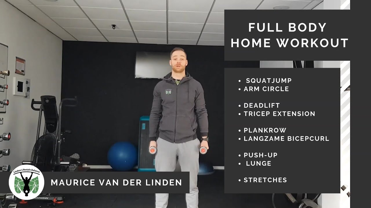 Full body work-out met dumbells only!