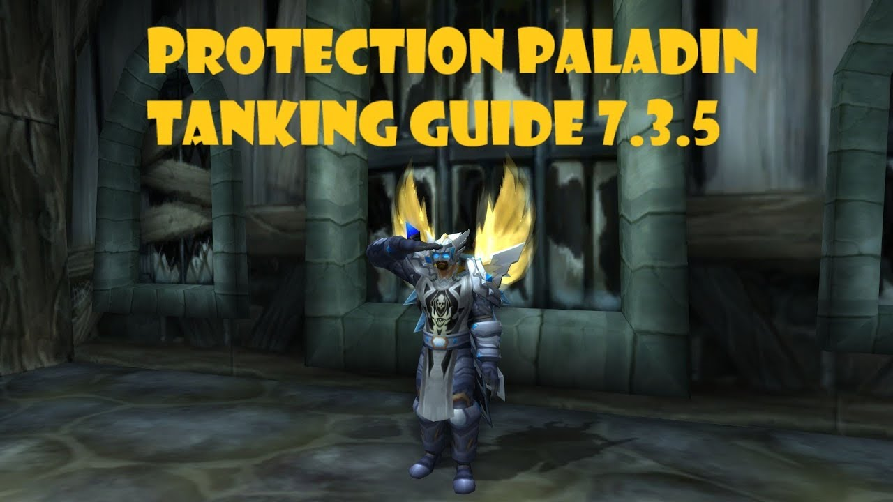 Protection Paladin Tanking Guide 7.3.5 - YouTube
