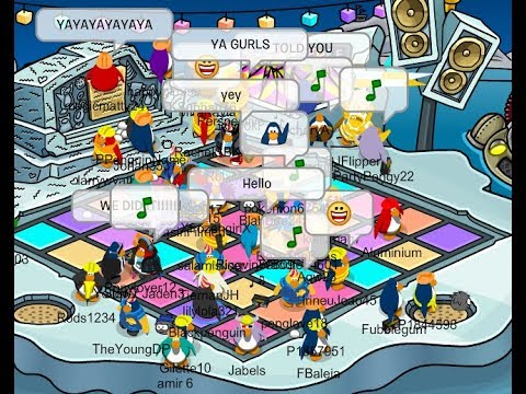 Club Penguin Rewritten: Waddle on party Iceberg tipping + All quotes