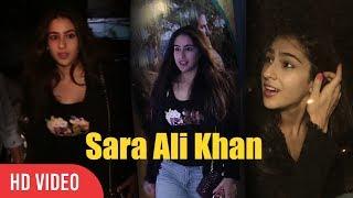 Sara Ali Khan At Special Screening Of Toilet Ek Prem Katha | Saif Ali Khan Daughter