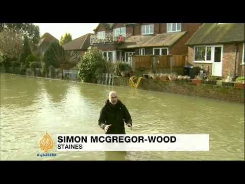 Bad weather continues to cause misery in UK