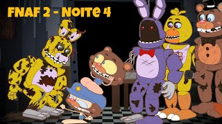 Mongo e Drongo em FNAF 2 - NOITE 4 - Five Nights at Freddy's 2 - desenho animado