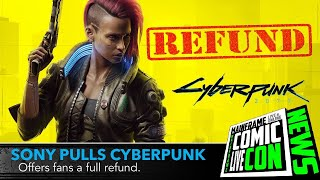 Cyberpunk 2077 | Pulled from Download | Sony Offers Full Refund