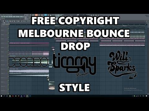 Free Copyright Melbourne Bounce Drop (Timmy Trumpet Style) | Fl Studio (Free FLP Dwonload)