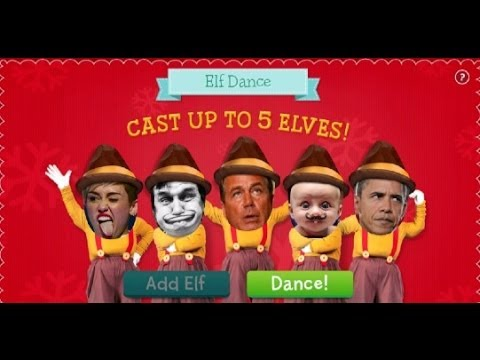 elf dance app by jibjab iphone app review demo youtube
