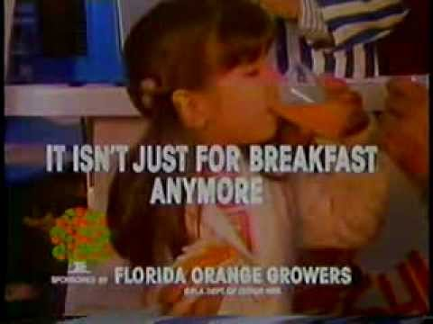 Florida Orange Juice 1979 TV commercial