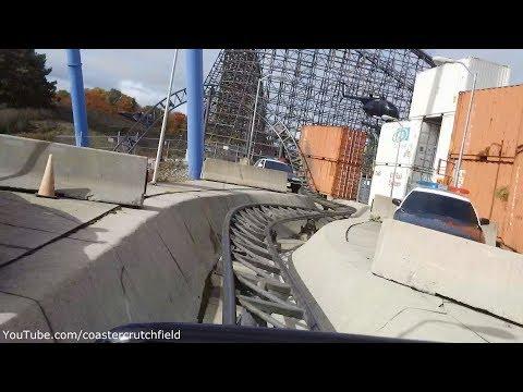 Backlot Stunt Coaster Front Row (HD POV) Canada's Wonderland