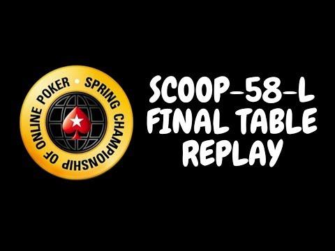 SCOOP 2018 | $109 NLHE Event 58-L Main Event