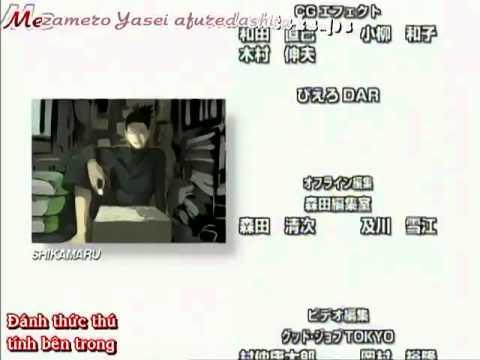 [vietsub][Ending]Naruto Shippuden 4 - Mezamero Yasei