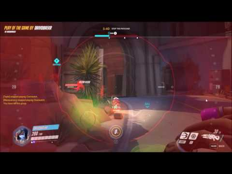 Letting people walk into my crosshair (Widowmaker)