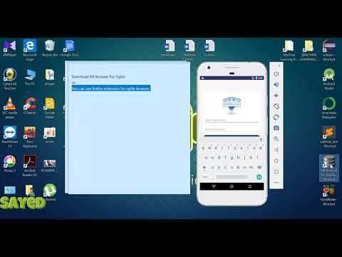 How To View Sqlite Database Tables In Android Studio ?