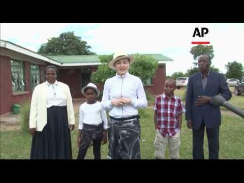 Madonna adopts twin girls in Malawi