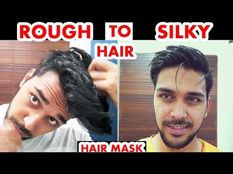 How To Make Hair Soft And Silky At Home For Men (NATURALLY) ! FOR MEN AND BOYS ! HAIR TIPS 2018 thumbnail