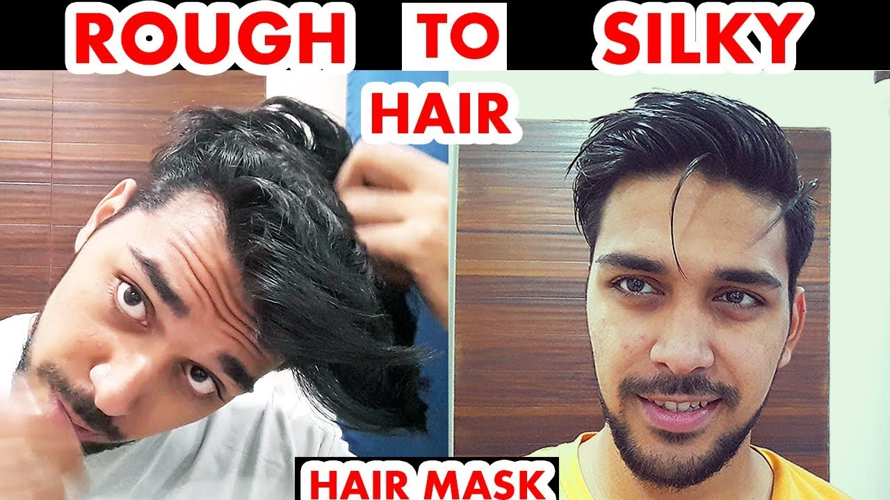 How To Make Hair Soft And Silky At Home For Men (NATURALLY ...